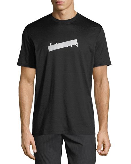 Lanvin Men's Anti Logo Mercerized T-Shirt