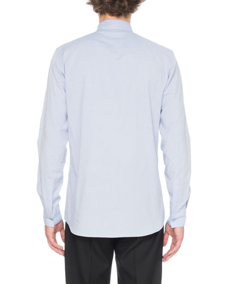 Givenchy Men's Sport Shirt With Embroidery