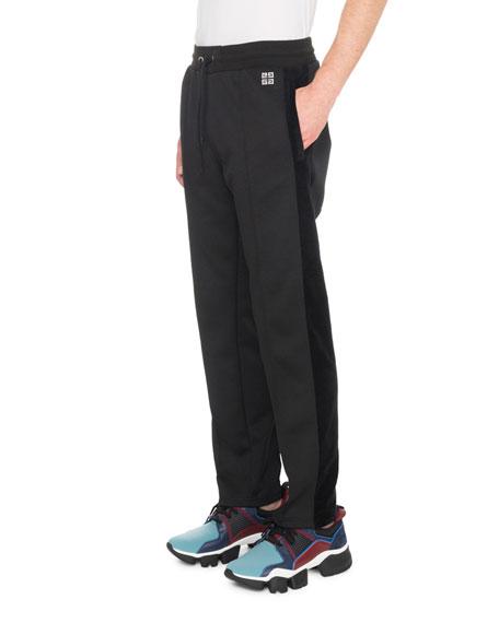 Givenchy Men's Velvet Track Pants