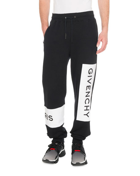Givenchy Men's Jogging Pants With Embroidery