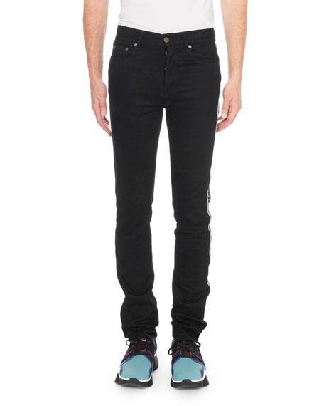 Givenchy Men's Stretch Denim Logo Jeans