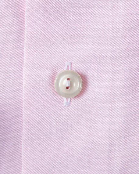 Image 3 of 3: Eton Men's Contemporary-Fit Twill Dress Shirt