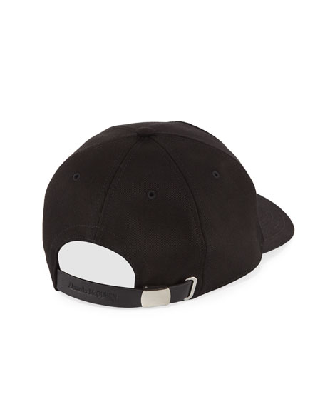 Alexander McQueen Men's Darned Skull Hat