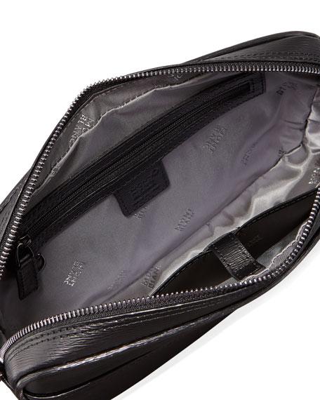 Montblanc Men's Westside Leather Zip-Top Clutch Bag/Travel Case
