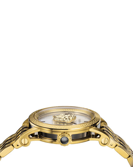 Versace Men's 43mm Palazzo Empire Watch, Gold/Black