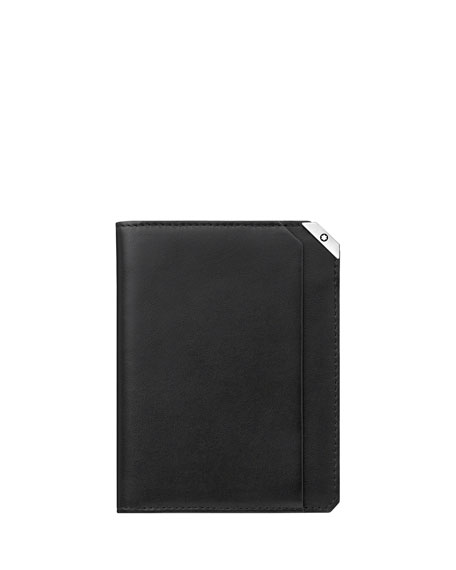 Montblanc Men's Urban Spirit Vertical Leather Wallet