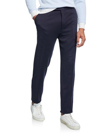 Brioni Men's Silk/Cotton Knit Pants