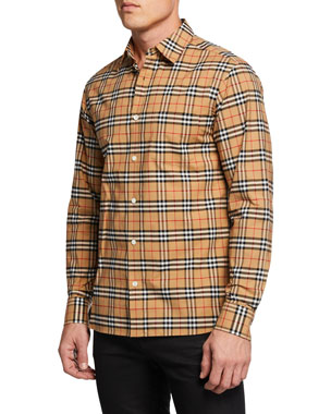 a06b7fb73 Men's Casual Button-Down Shirts at Neiman Marcus