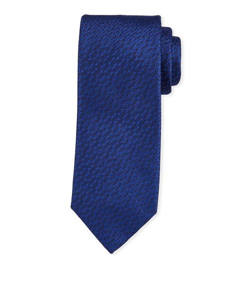 Salvatore Ferragamo Textured Silk Tie