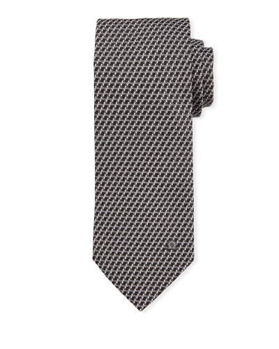 Swirl Silk Tie  Gray