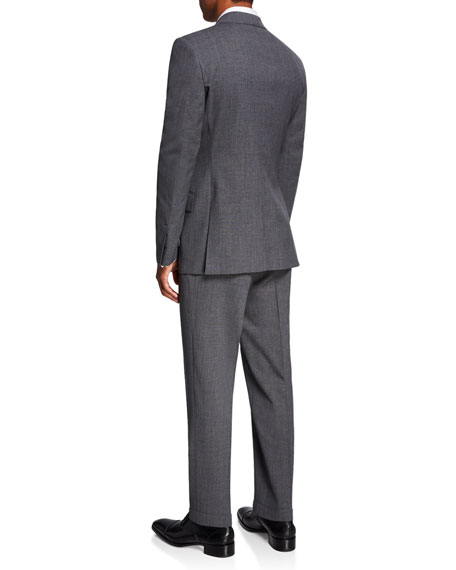 Image 3 of 4: TOM FORD Men's O'Connor Notch-Lapel Two-Piece Suit