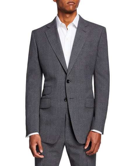 Image 1 of 4: TOM FORD Men's O'Connor Notch-Lapel Two-Piece Suit