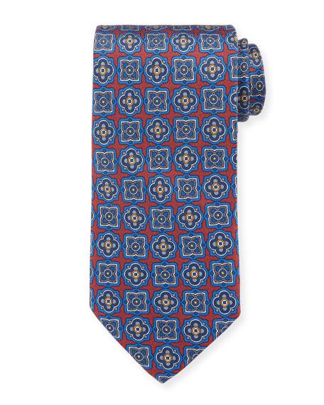 Eton Men's Silk Multi Medallion Tie