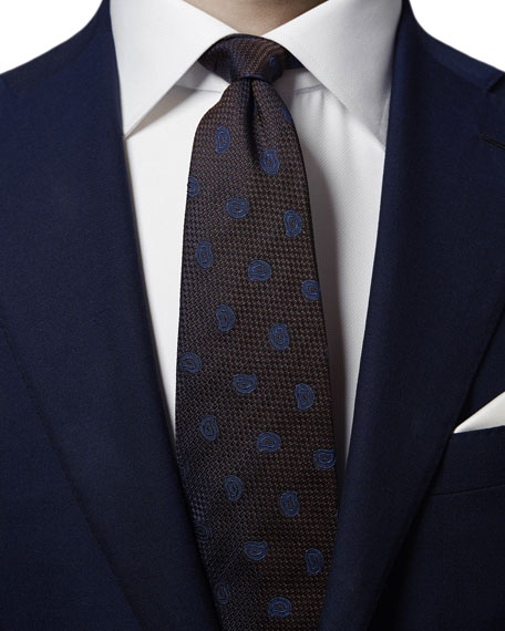 Eton Men's Pine Paisley Tie