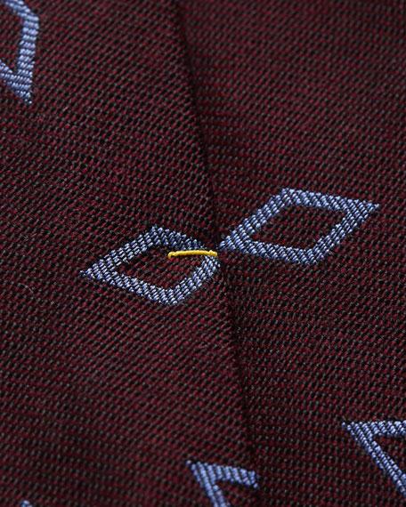 Eton Men's Silk/Wool Geo Tie
