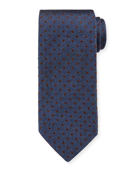 Eton Men's Silk Dot Tie