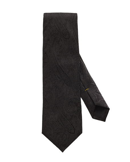 Eton Men's Paisley Formal Tie