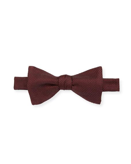 Eton Men's Textured Solid Bow Tie