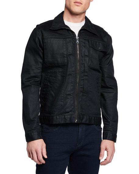 Hudson Men's Zip Denim Jacket