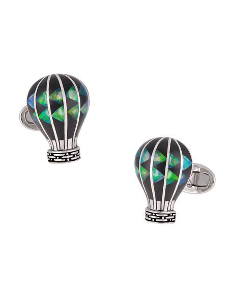 Jan Leslie Hot Air Balloon Cufflinks