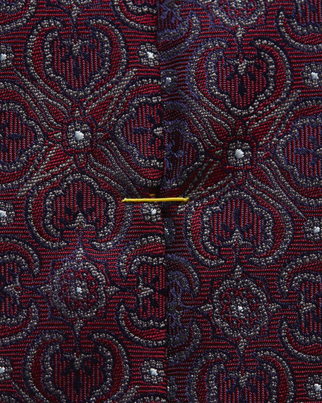 Eton Dotted Medallion Tie