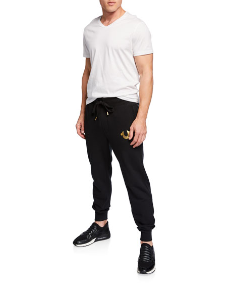 True Religion Men's Metallic Sweatpants