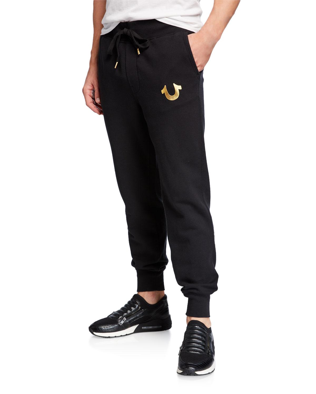 dd7f8af419 True Religion Men's Metallic Sweatpants   Neiman Marcus