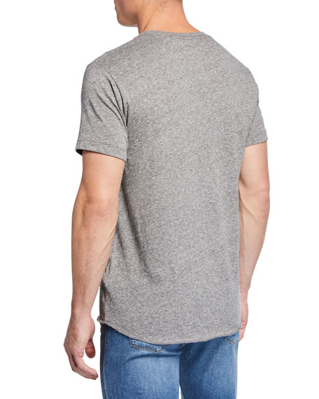 J Brand Men's Genator Heathered Jersey T-Shirt