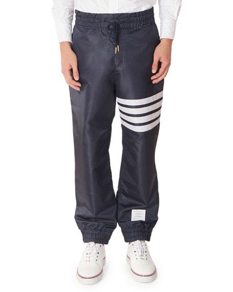 Thom Browne Men's Ripstop Jogger Pants