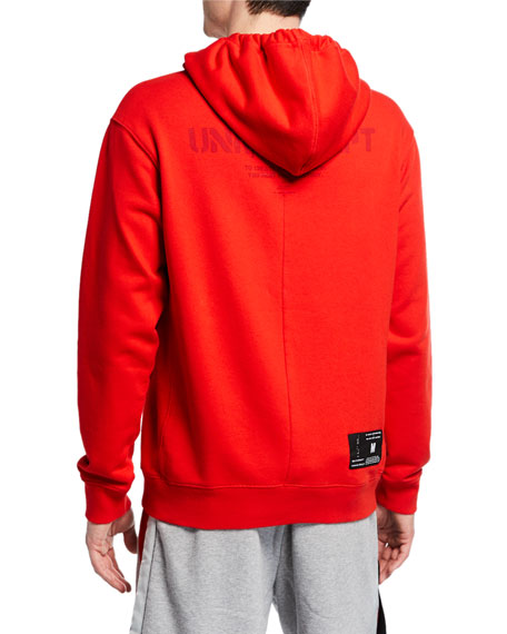 UNRAVEL Men's Pullover Cotton Hoodie