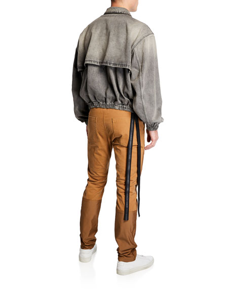UNRAVEL Men's Oversized Denim Jacket