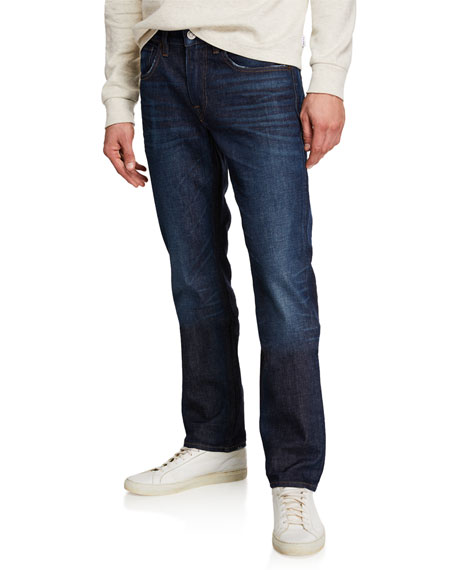 Hudson Men's Byron Straight Fit Denim Jeans