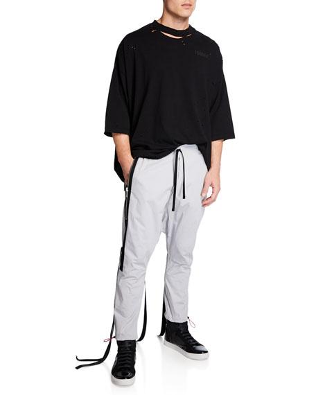 UNRAVEL Men's Drop-Crotch Joggers