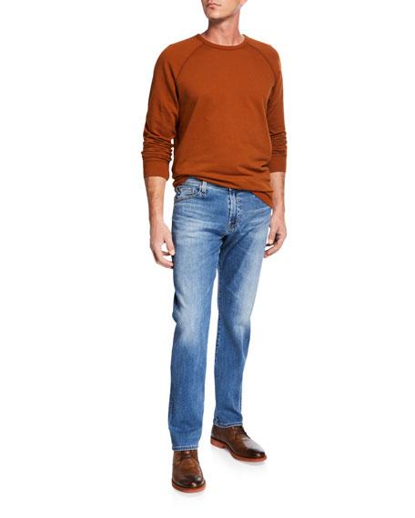 AG Adriano Goldschmied Men's Everett Straight-Leg Denim Jeans