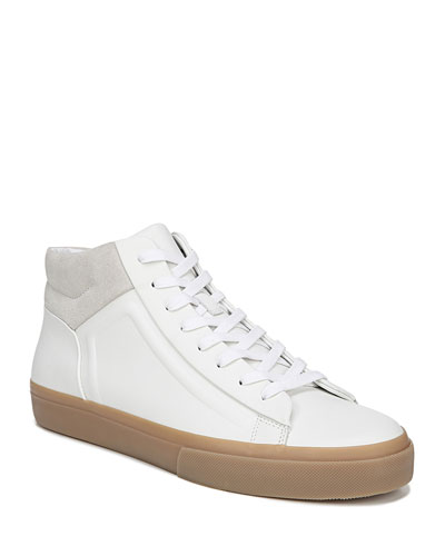 Men's Flynn Glove Leather & Suede Mid-Top Sneakers