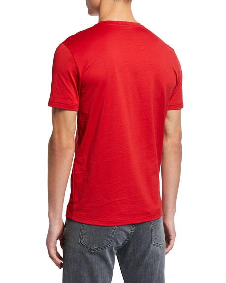 Fendi Men's FF Mesh Stripe T-Shirt