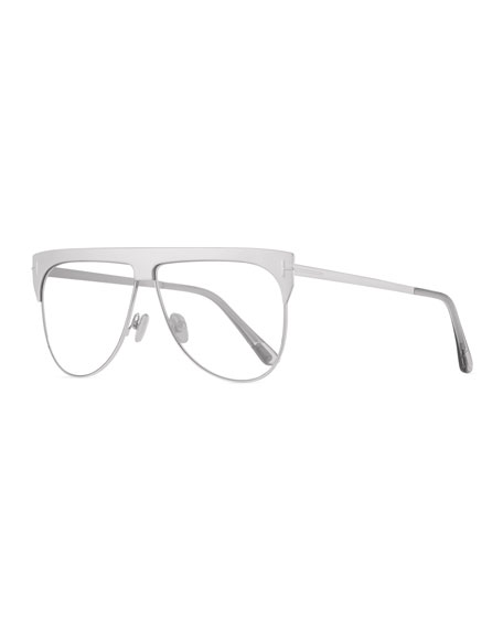 TOM FORD Men's Winter Two-Tone Mirrored Aviator Sunglasses