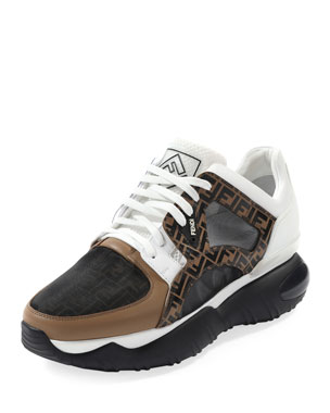 851a5e140869 Fendi Men s Fancy Chunky Runner Sneakers