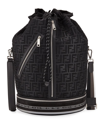 Men's FF Mesh Drawstring Carryall Bag