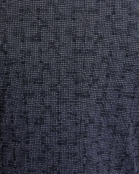 Emporio Armani Men's Textured Seersucker Two-Button Jacket