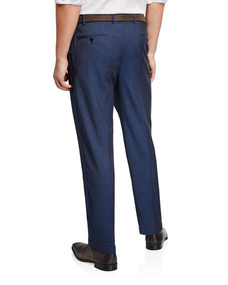 Emporio Armani Men's Classic Wool Dress Trousers