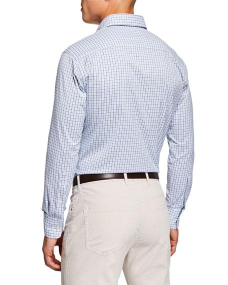 Peter Millar Men's Long Sleeve Performance Woven Shirt