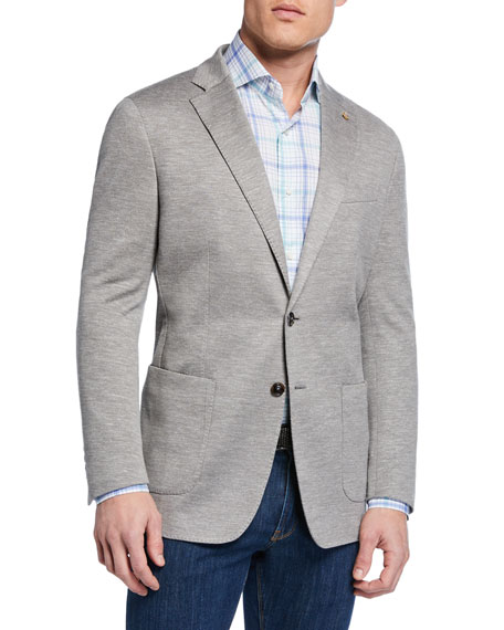 Peter Millar Men's La Jolla Two-Button Soft Jersey Jacket