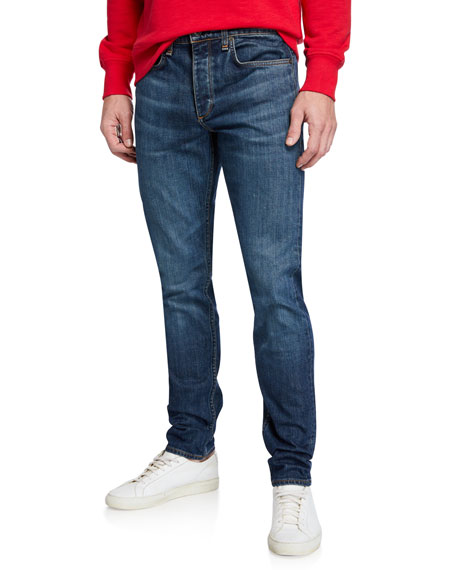 Rag & Bone Standard Issue Fit 2 Mid-Rise Relaxed Slim-Fit Jeans, Linden