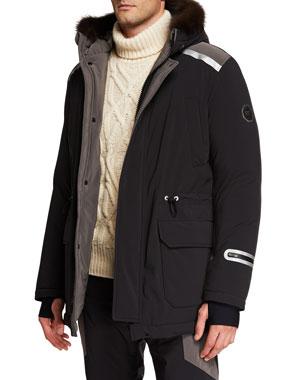 2970a8468 Men's Designer Coats & Jackets at Neiman Marcus