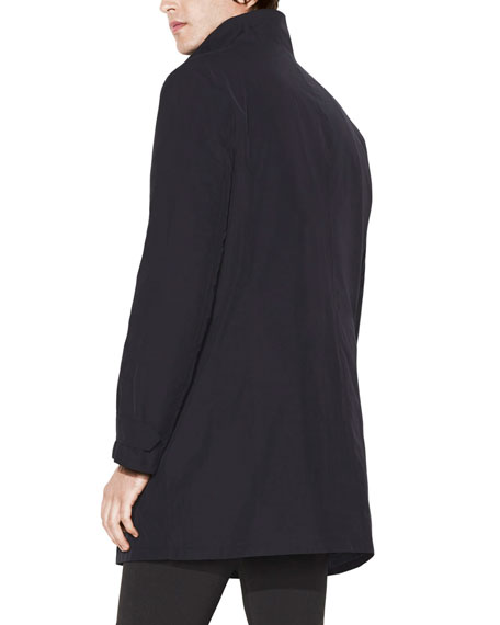 John Varvatos Men's Parka Coat with Detachable Jacket