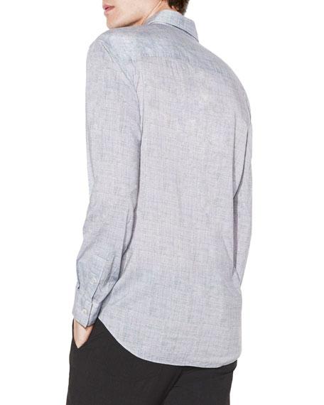John Varvatos Men's Classic-Fit Pickstitch Sport Shirt