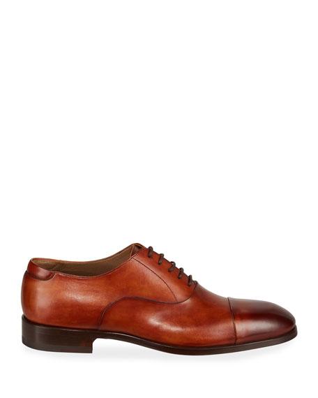 Magnanni for Neiman Marcus Men's Boltilux Leather Oxfords