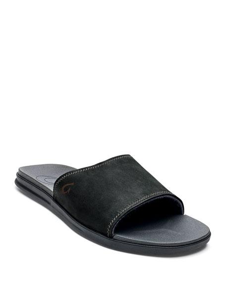 Olukai Men's Alania Slide Sandals