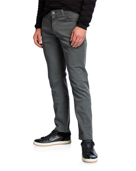 Emporio Armani Men's J15 Stretch-Cotton 5-Pocket Pants